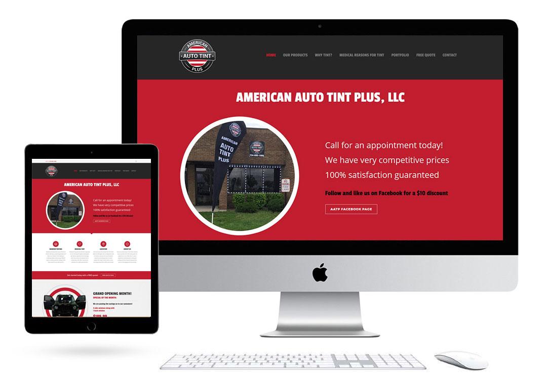 American Auto Tint Website