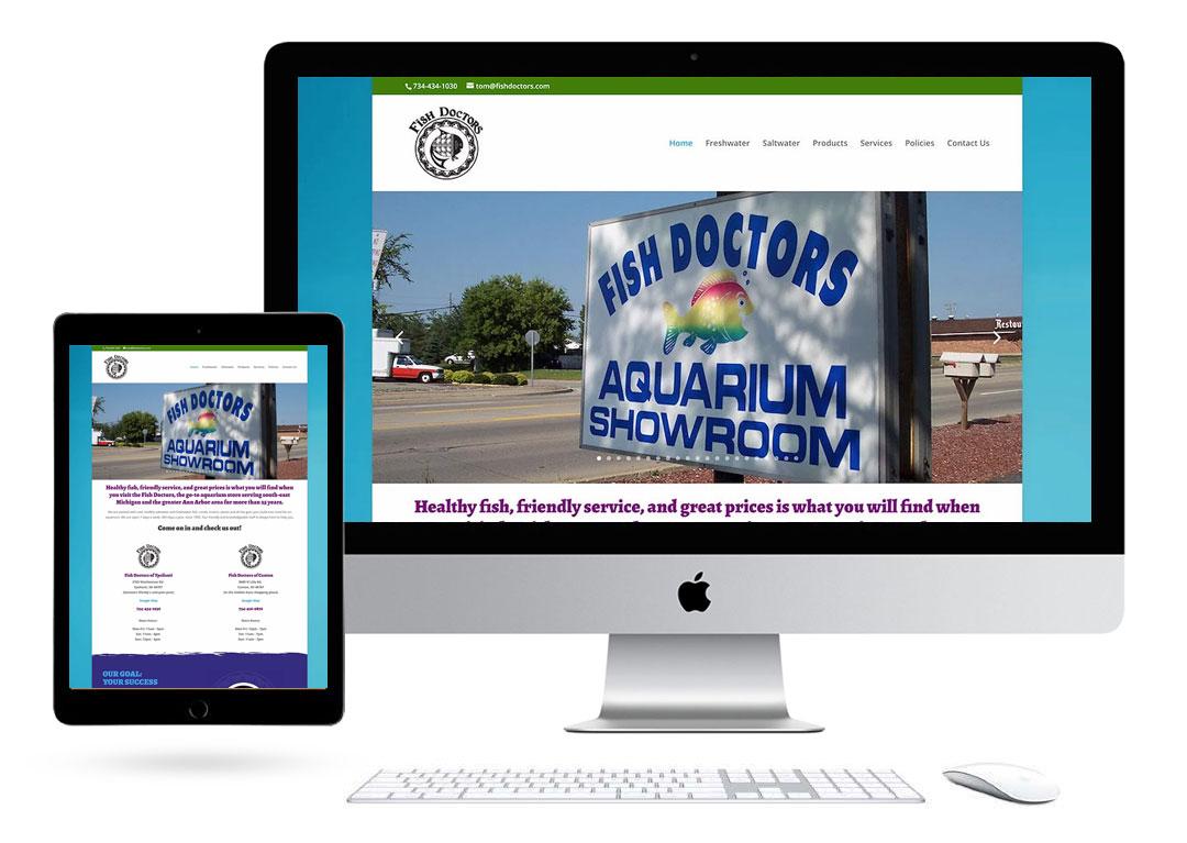 Fish Doctors Website