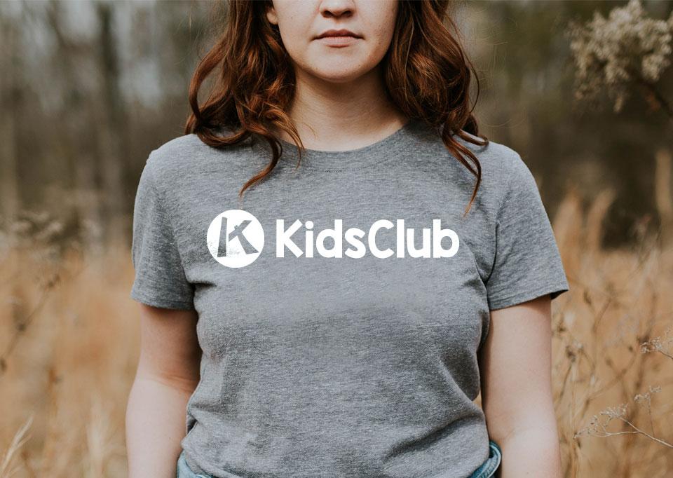 Kids Club Logo and Tshirts
